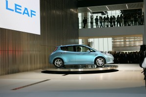 Premiere Nissan LEAF