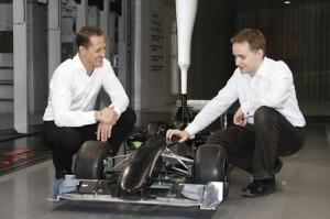 Schumi Mercedes GP