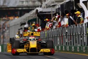 Robert Kubica Renault Australien GP 2010 Foto: Renault