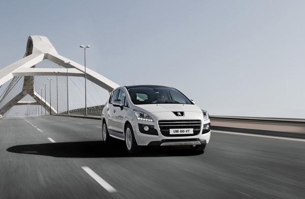 Der Peugeot 3008 HYbrid4 - Der erste Dieselhybrid-Crossover der Welt