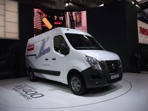 IAA 2010 Hannover: Weltpremiere des neuen Nissan NV400 (c) Christel Weiher