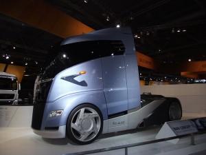 MAN Concept S - Weltpremiere der Lkw-Studie auf der IAA Nutzfahrzeuge 2010 (c) Christel Weiher