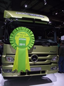 Truck of the Year 2011 Atego 1222 L EEV BlueTec Hybrid IAA 2010 (c) Christel Weiher