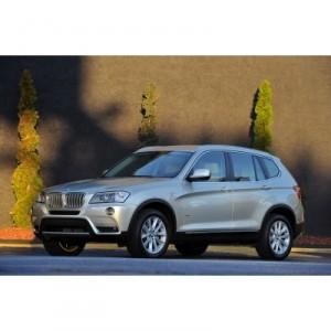 Der neue BMW X3 Vorder-Seitenansicht