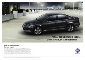 VW Der neue Passat Werbekampagne