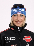 Magdalena Neuner Deutsche Biathlon-Nationalmannschaft