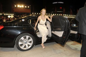 Diane Kruger  BMW 7er  Red Carpet zur CLOSING  ABSCHLUSS CEREMONY im Berlinale Palast bei den 61. Internationalen Filmfestspielen Berlin (c) BMW