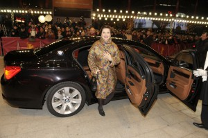Isabella Rosselini  BMW 7er Red Carpet zur CLOSING  ABSCHLUSS CEREMONY im Berlinale Palast bei den 61. Internationalen Filmfestspielen Berlin  61. International Filmfestival Berlinale in Berlin-Mitte am 19.02.2011 (c) BMW