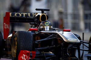 Lotus Renault GP Formel 1 Saison 2011 Testfahrten in Barcelona Erster Tag 2