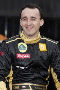 Lotus Renault GP Pilot Robert Kubica recovery