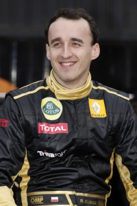 Robert Kubica Lotus Renault GP F1 2011