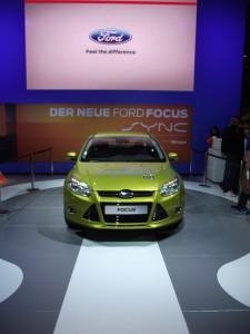 Ford auf der Cebit 2011 Weltweite SYNC-Markteinführung (c) Christel Weiher