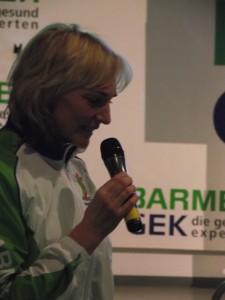 Heike Drechsler Cebit 2011 (c) Christel Weiher