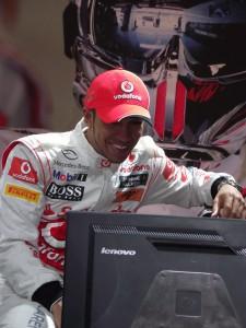 Lewis Hamilton Cebit 2011 (c) Christel Weiher