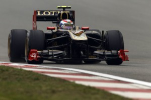China GP Lotus Renault GP Formel 1 2011 Vitaly Petrov
