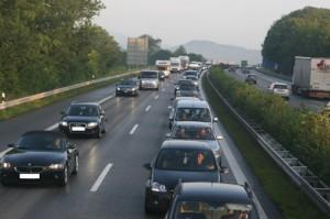 Stau im Osterreiseverkehr Foto: Auto Club Europa ACE