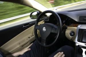 Automatisches Fahren mit TAP Passat Variant
