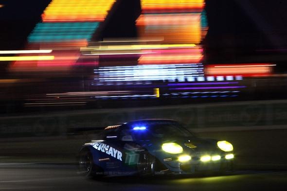 Le Mans 2011 Porsche 911 GT3 RSR, Team Felbermayr-Proton Richard Lietz, Marc Lieb, Wolf Henzler