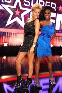 Das Supertalent 2011 Sylvie van der Vaart und Motsi Mabuse (c) RTL / Stefan Gregorowius 