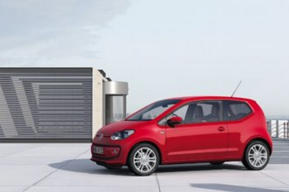 Goldenes Lenkrad 2011 für den neuen Volkswagen up!