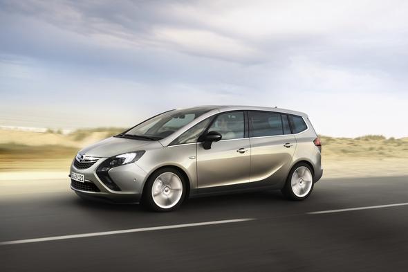 Neuer Opel Zafira Tourer