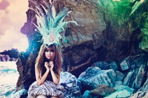 Aura Dione Neues Album Before the Dinosaurs Foto (c) Vilstrup Universal Music 2011