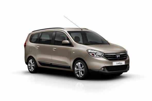 Der neue Dacia Van: Der Dacia Lodgy feiert im März Weltpremiere