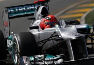 Michael Schumacher Mercedes AMG Petronas Formel 2012 Australien GP © HOCH ZWEI