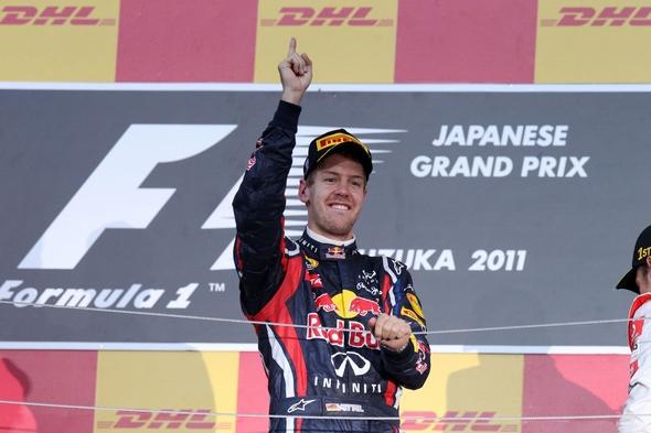Sebastian Vettel Formel 1 Weltmeister 2010 und 2011 © RTL / Lukas Gorys