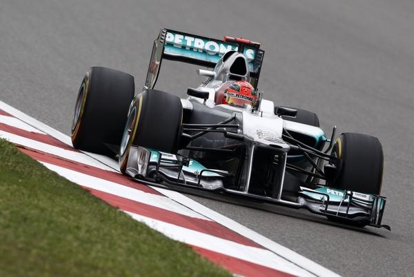 Michael Schumacher Mercedes AMG Petronas Formel 1 China GP 2012 © HOCH ZWEI