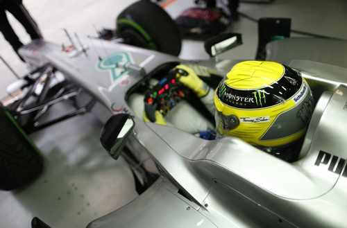 Nico Rosberg Formel 1 2012 Mercedes AMG Petronas China GP © HOCH ZWEI