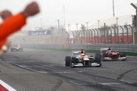 Paul di Resta Sahara Force India Formel 1 2012 Bahrain GP © Sahara Force India Formula One Team