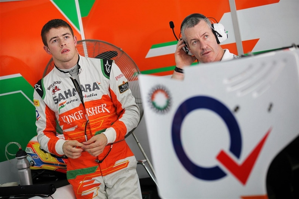 Paul di Resta Sahara Force India Formel 1 2012 Freies Training Bahrain GP © Sahara Force India Formula One Team