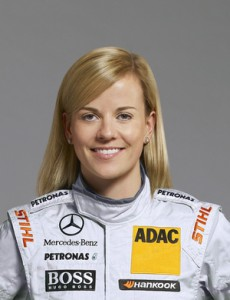 Susie Wolff DTM 2012 Mercedes-Benz