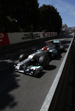 Michael Schumacher Mercedes AMG Petronas Formel 1 2012 Monaco GP © HOCH ZWEI