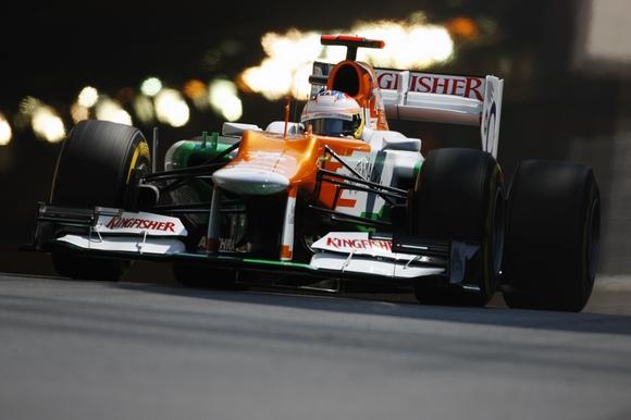 Paul di Resta Sahara Force India Formel 1 2012 Monaco GP © Sahara Force India Formula One Team