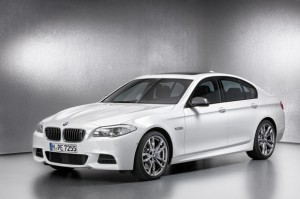 Der BMW M550d xDrive.