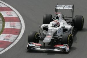 Kamui Kobayashi Sauber F1 Team Formel 1 2012 Kanada GP © Sauber Motorsport AG