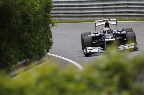 Pastor Maldonado Williams F1 Formel 1 2012 Kanada