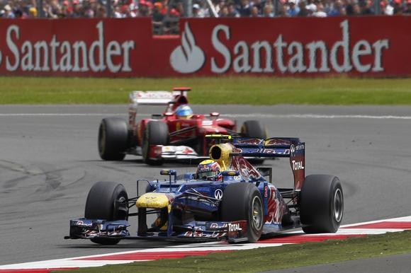 Mark Webber Formel 1 2012 GP Silverstone © Renault