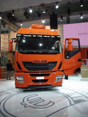 Iveco Stralis Hi-Way ist Truck of the Year 2013 IAA Nutzfahrzeuge 2012 © Christel Weiher