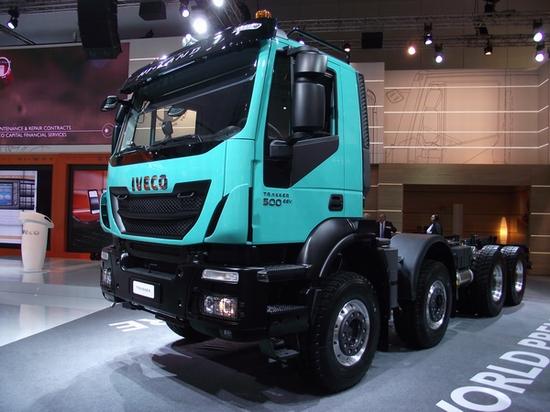 Iveco Trakker HiLand Weltpremiere auf der IAA Nutzfahrzeuge 2012 © Christel Weiher