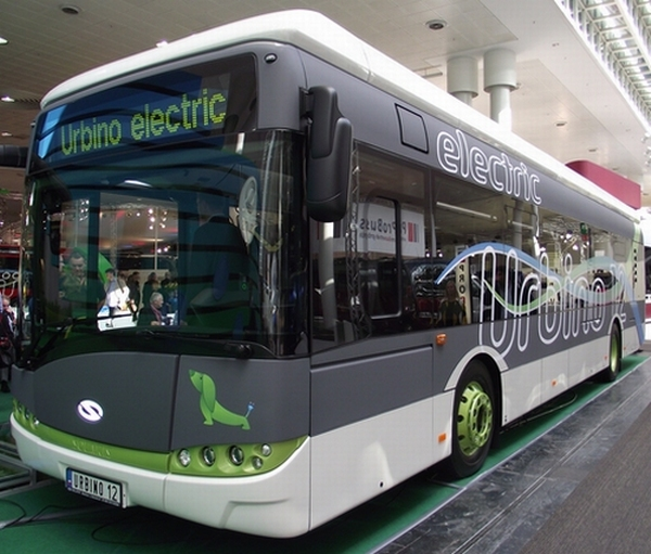Solaris Urbino Electric IAA Nutzfahrzeuge 2012 in Hannover © Christel Weiher
