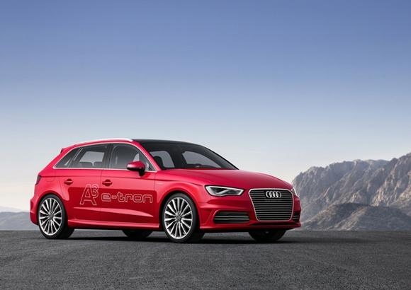 Der Audi A3 e-tron © Audi AG