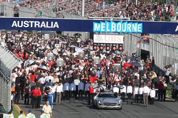 Formel 1 Das Rennen zum Großen Preis von Australien in Melbourne © RTL / Lukas Gorys