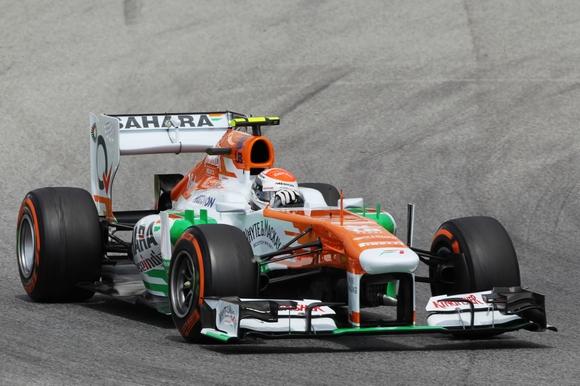 Adrian Sutil im VJM06 Formel 1 2013 © Sahara Force India Formula One Team