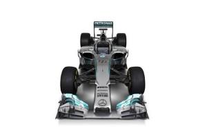 Mercedes AMG Petronas Der neue Silberpfeil F1 W05 Bolide © Mercedes