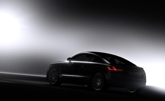 Der neue Audi TT Das erste Foto © Audi