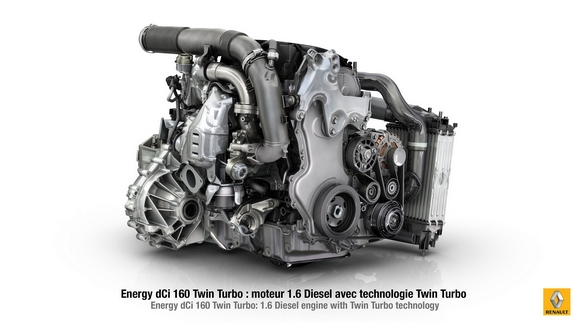 Renault ENERGY dCi 160 Twin Turbo © Renault