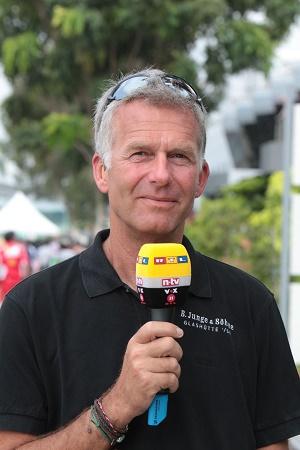 Formel 1 2014 live auf RTL Kommentator Christian Danner © RTL Lukas Gorys